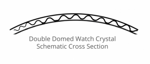 Double Domed Watch Crystal