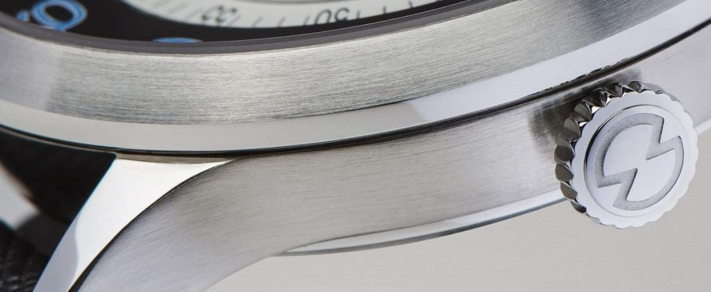 snglrty watch case manufactured from 316L stainless steel, also referred to as 1.4404 stianless steel under the european standard